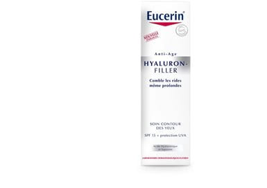 eucerin hyaluron filler soin contour des yeux anti rides anti ge. Black Bedroom Furniture Sets. Home Design Ideas