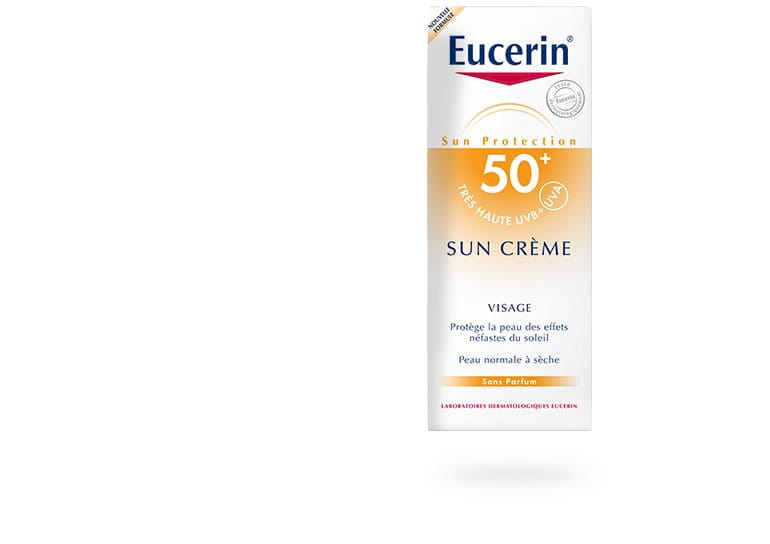 eucerin protection solaire sun cr me spf 50 cran solaire. Black Bedroom Furniture Sets. Home Design Ideas